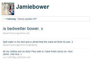 jamie bower's twitter