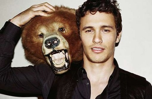 James Franco doin Gucci in Vogue Hommes International