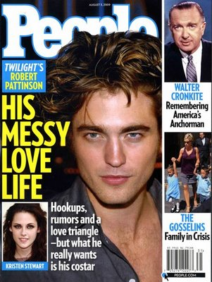 On newsstands this week. Messy hair = messy love life.