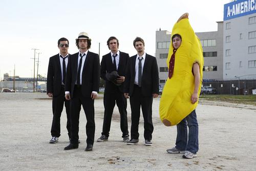 god I love men in banana suits
