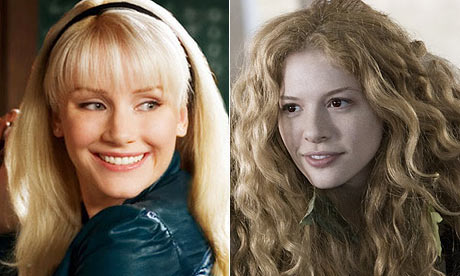 Howard as a blonde in Spider Man 3, our precious Victoria