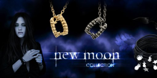 fang necklaces and charm jelly bracelets- we know there are NO fangs in Twilight but it's Twilight INSPIRED so just go with it