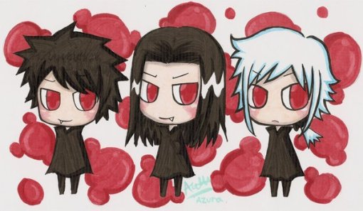 Volturi Marcus, Aro and Caius by Ryuza_Kahou