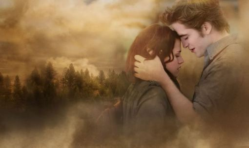 bella and edward in the mist