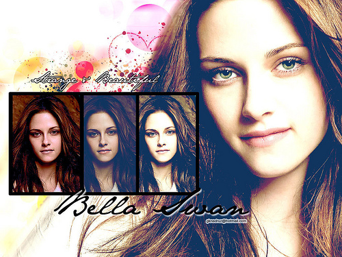 bella swan wallpaper anyone?