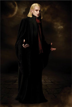Caius. JJ is thinking about switching from Team Edward to Team Volturi just for him.
