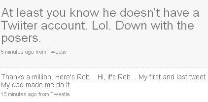 aaaand just like that, he will never tweet again.