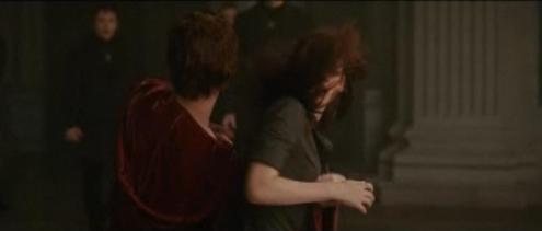 Edward protecting Bella
