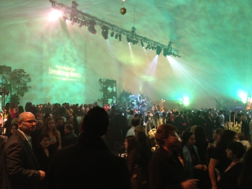 Breaking Dawn Premiere After Party at Nokia Live